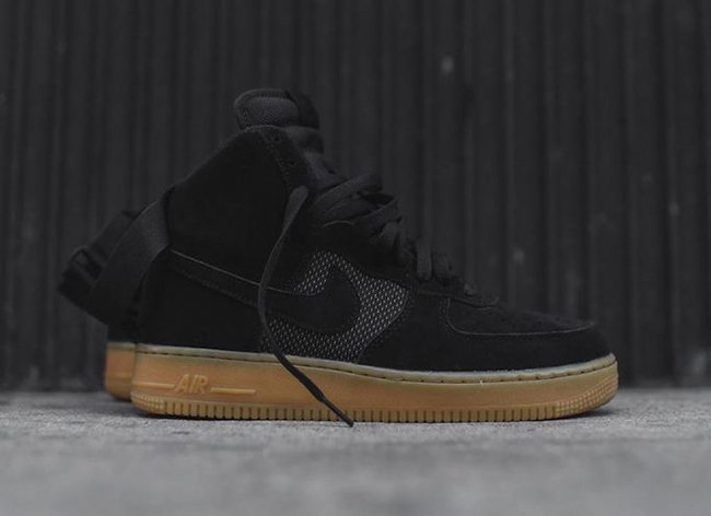 Nike Air Force 1 High Black Gum 806403-003  a3169b81ab