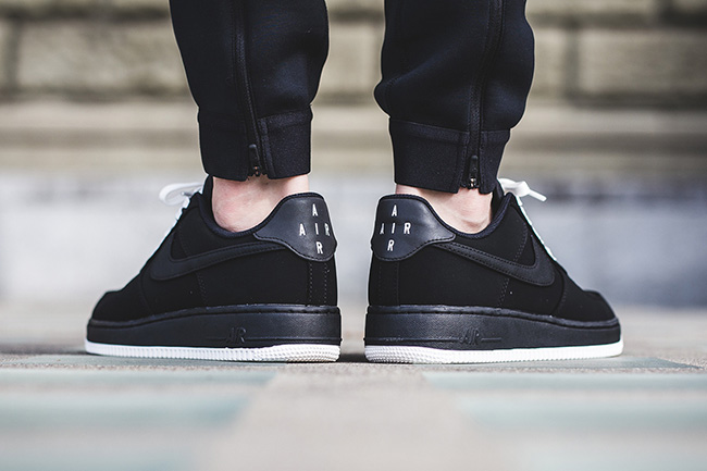 air force 1 low black sail