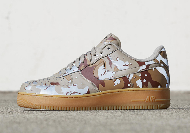 nike air force reflective camo