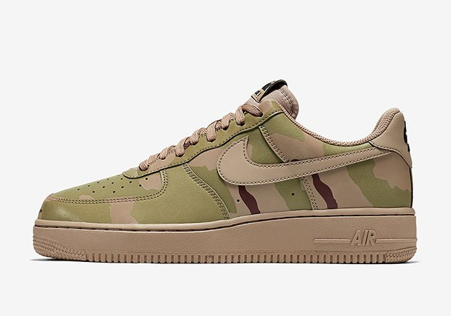 Nike Air Force 1 Low Reflective Desert Camo