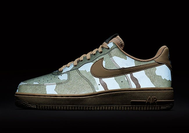 sale usa online super specials 100% quality Nike Air Force 1 Low Reflective Desert Camo | SneakerFiles
