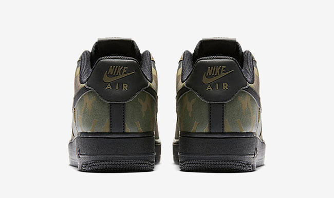 Nike Air Force 1 Low Reflective Green Camo