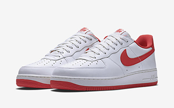 Nike Air Force 1 Low Summit White Red