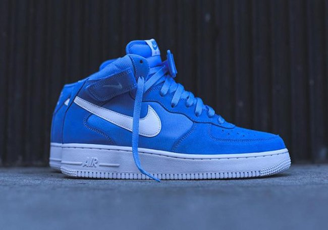 Buy Nike Air Force 1 07 Mens Blue Up To 79 Discounts