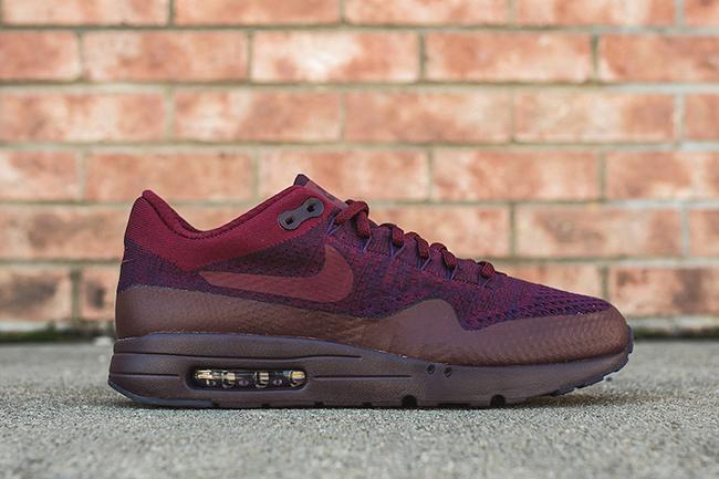 best sneakers 2efb8 245b9 Nike Air Max 1 Ultra Flyknit Grand Purple | SneakerFiles