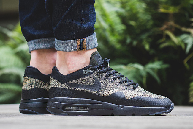 Nike Air Max 1 Ultra Flyknit Neutral Olive