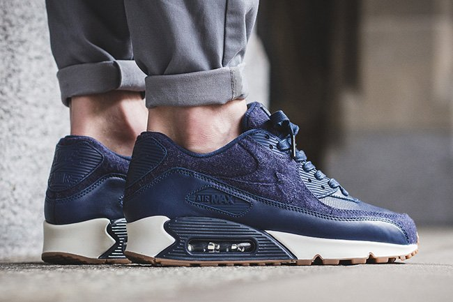 Nike Air Max 90 Premium Midnight Navy on sale s132716079