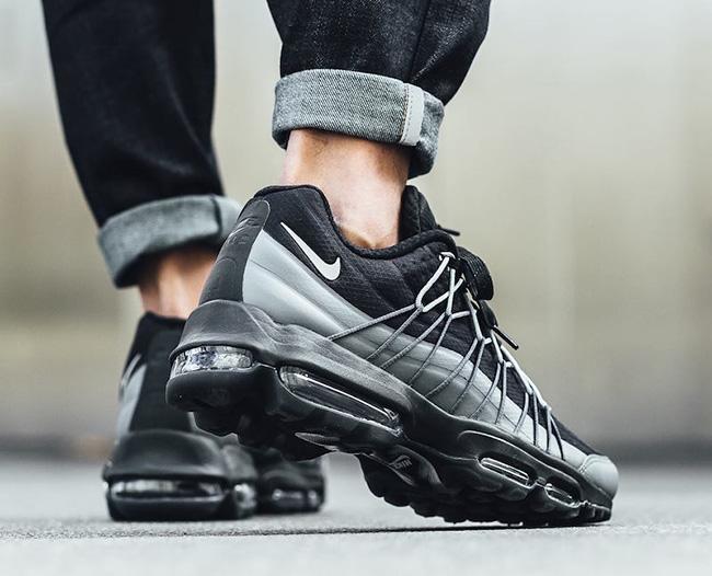 Nike Air Max 95 Ultra SE Black Dark Grey
