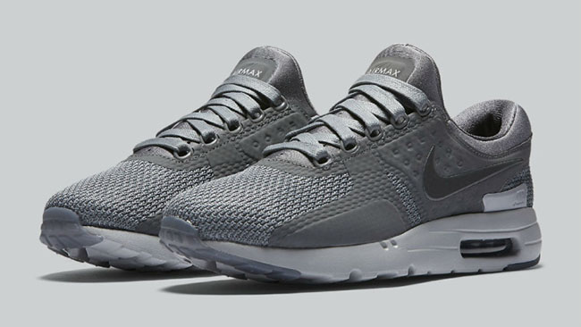 size 40 f1140 29fe5 Nike Air Max Zero Cool Grey