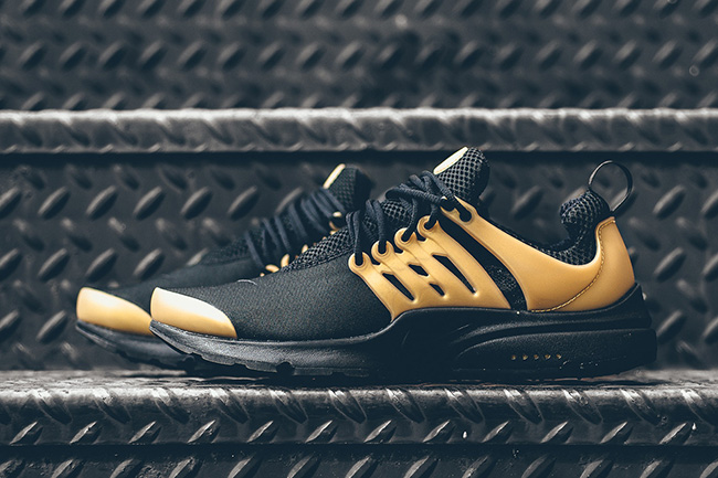 Nike Air Presto Essential Black Metallic Gold