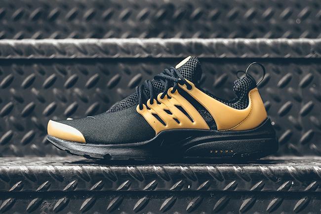 1729197a1aab Nike Air Presto Essential Black Metallic Gold