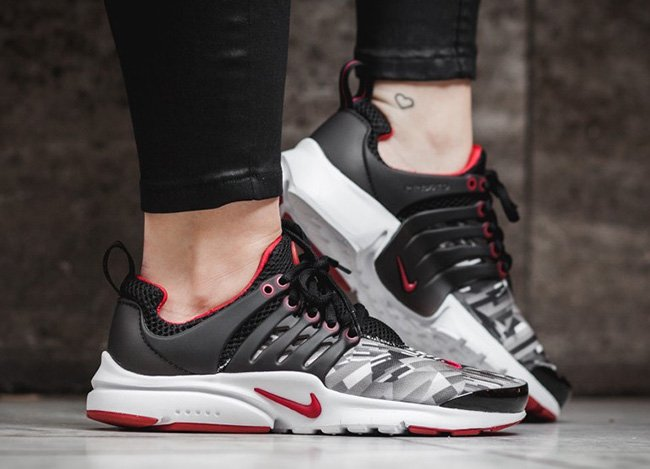 Nike Air Presto Print Gym Red
