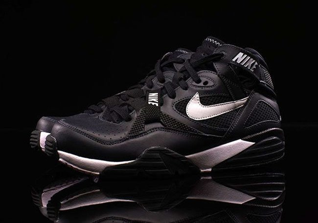 92f59a810a ... usa nike air trainer max 91 leather black silver d3a64 224bd