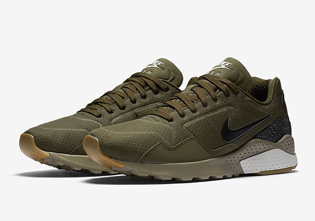 save off 82097 177a9 Nike Air Zoom Pegasus 92 Ripstop Nylon Olive