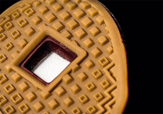 Nike Ambassador 9 Wine Red Gold Gum