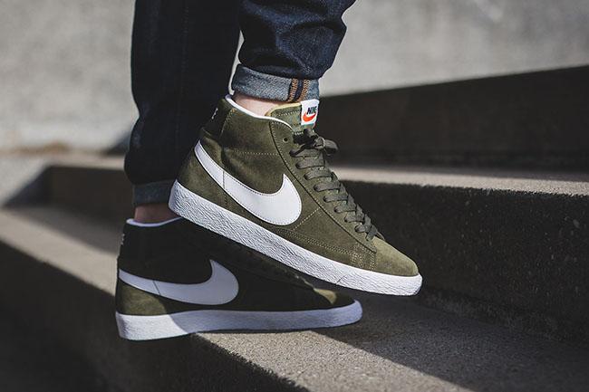 Nike Blazer Noir Mi Longueur