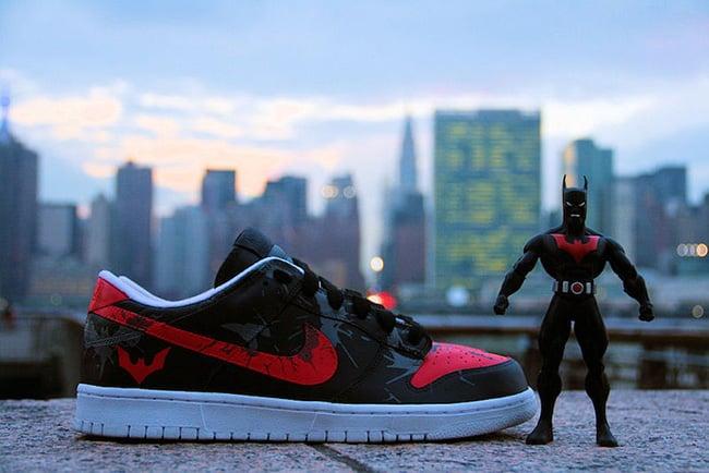 Nike Dunk Low Batman Beyond Custom