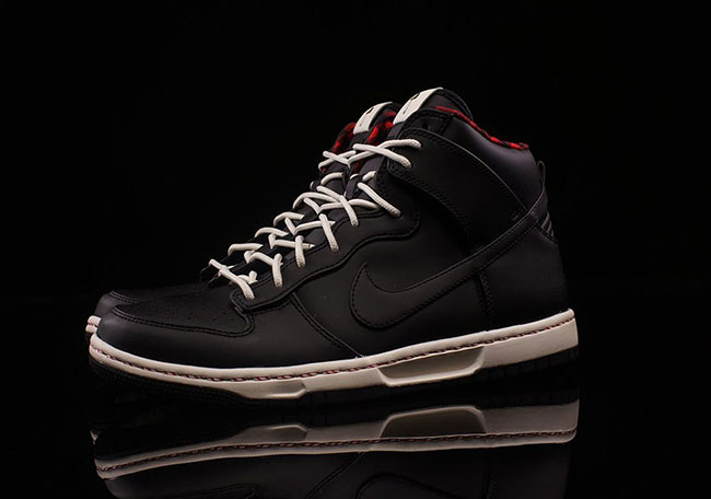 pretty nice cd58a e70cb ... Nike Dunk High Ultra Flannel Black ...