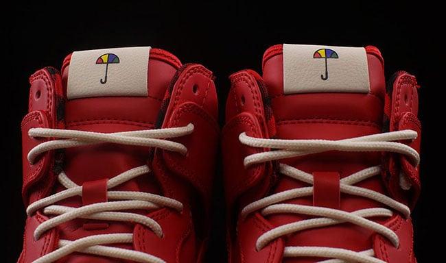 buy popular 999f8 bcf83 Nike Dunk High Ultra Flannel Sport Red