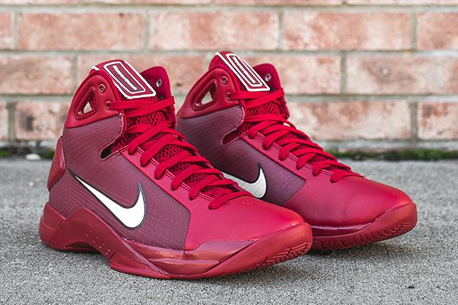 Nike Hyperdunk 08 Gym Red Team Red