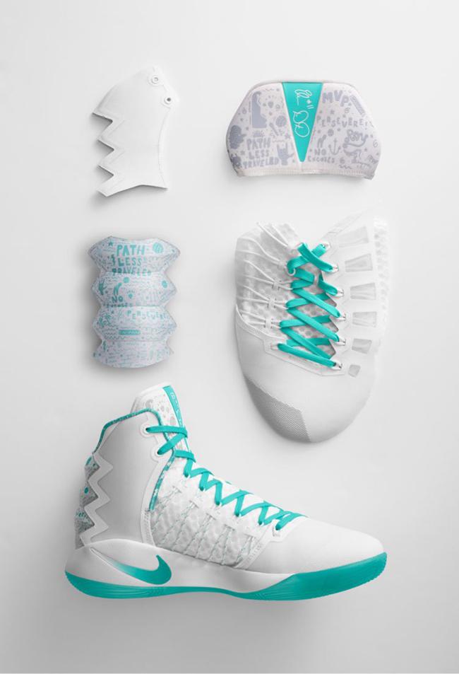suficiente Excluir Preparación  Nike Hyperdunk 2016 Elena Delle Donne PE | SneakerFiles