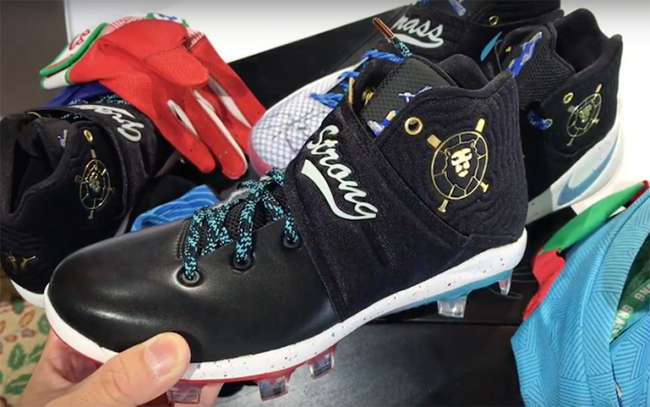 89d2c27e4435f Nike Kyrie 2 Doernbecher Cleats Andy Grass | SneakerFiles
