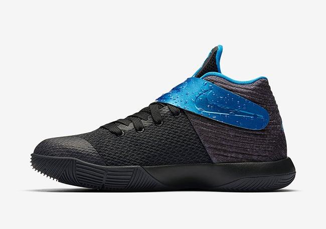 online retailer 24537 b73db Nike Kyrie 2 GS Wet Black Game Royal