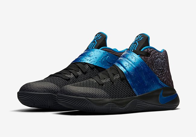 2ba381078fd4 Nike Kyrie 2 GS Wet Black Royal Blue Release Date