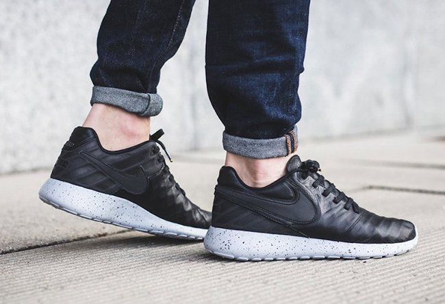 Nike Roshe Tiempo VI Black Leather