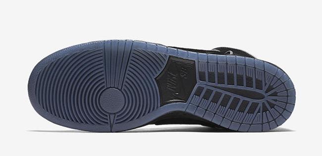 Nike SB Dunk High Black Purple Box