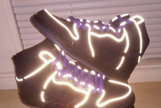 Nike SB Dunk High Purple Box