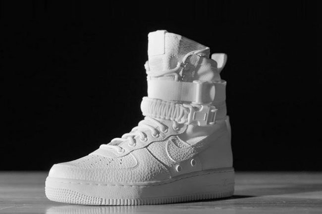 Nike SF Air Force 1 Triple White Release Date