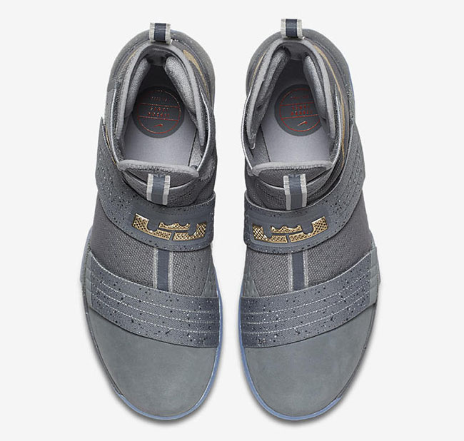 Nike LeBron Soldier 10 Battle Grey