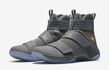 Nike Zoom LeBron Soldier 10 Battle Grey