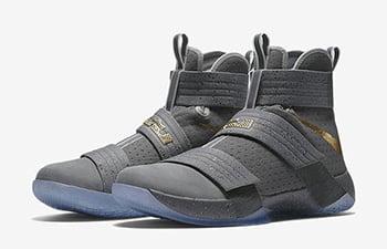 Nike Zoom LeBron Soldier 10 Battle Grey