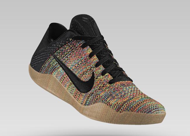 NikeID Kobe 11 Multicolor Flyknit