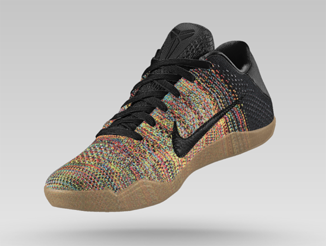 low priced a6b05 0a650 ... sale nikeid kobe 11 multicolor flyknit 34879 8493c