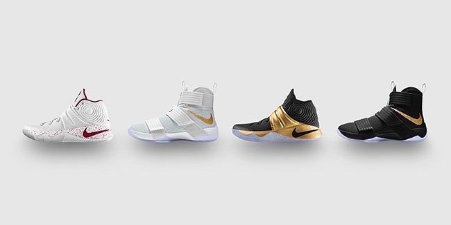 NikeID LeBron Kyrie Championship Pack