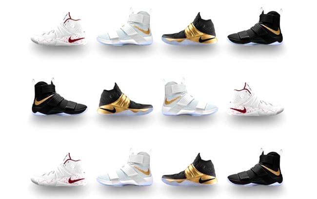 a1c7c5f4293 NikeID LeBron Kyrie Championship Pack
