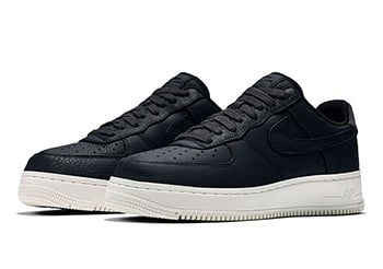 NikeLab Air Force 1 Low October 2016 Black