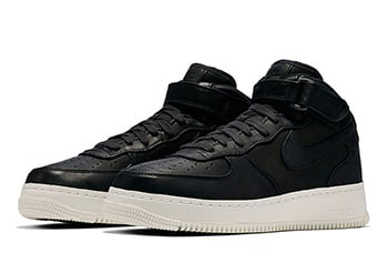NikeLab Air Force 1 Mid October 2016 Black