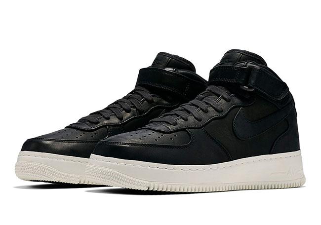 NikeLab Air Force 1 Mid October 2016 Black