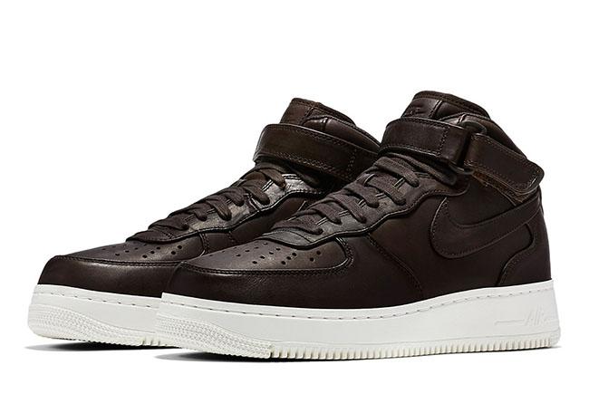 NikeLab Air Force 1 Mid October 2016 Velvet Brown