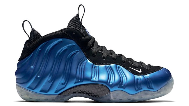 Nike Foamposite Royal Blue