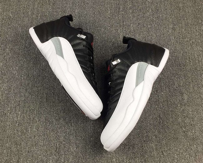 Playoffs Air Jordan 12 Low Retro 2017
