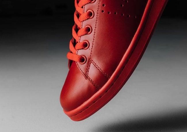 Raf Simons x adidas Stan Smith Tomato Black