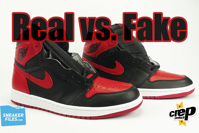 2921e8a0220 Real vs. Fake Air Jordan 1 Banned | SneakerFiles