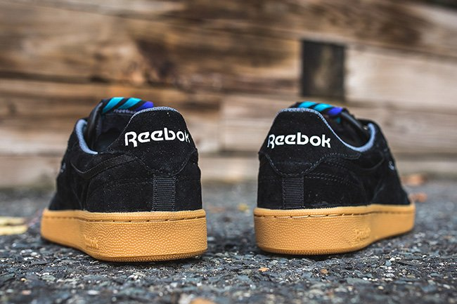 Reebok Club C 85 Indoor Black Gum