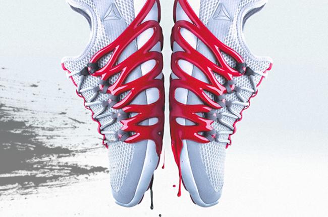 Reebok Liquid Factory Speed 3D Printed Sneakers