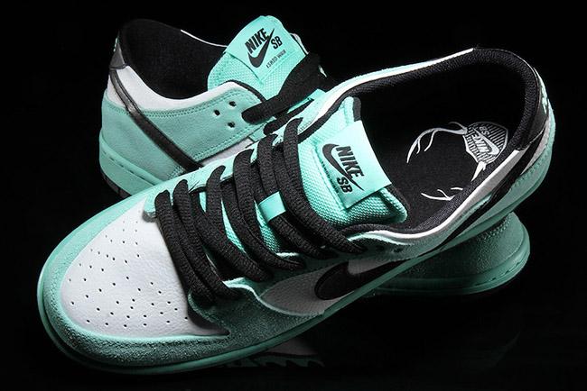 cb0482523f4240 Nike Sb Low Dunk Crystal Mint